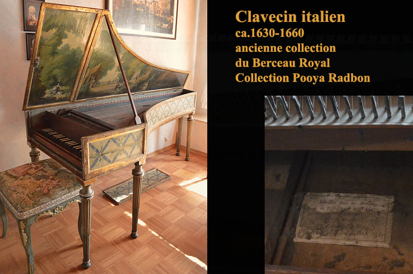 clavecin italien collection Pooya Radbon