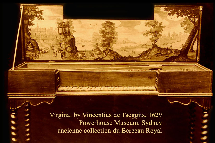 44-Virginal de Taeggiis, 1629 - ancienne collection du Berceau Royal