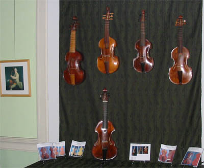 dessus de violes Collection Orpheon